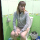 A pretty, blonde, Eastern-European girl sits on a toilet, cuts loud farts, pisses and pushes. No obvious pooping sounds heard, but she appears relieved. Presented in 720P HD. 102MB, MP4 file. Exactly 5 minutes.